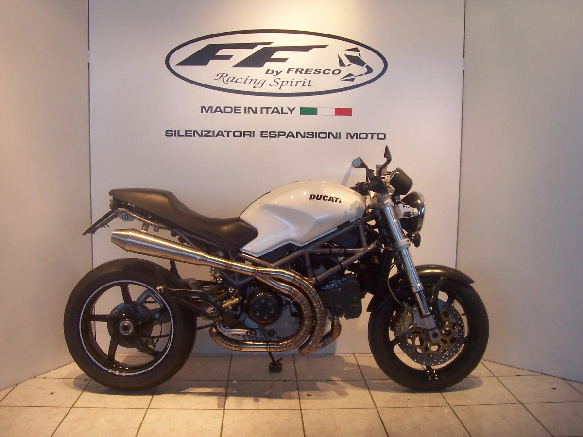 Ducati Monster S2R S4R Scarico Completo Special