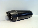 Scarico Moto Ovale Full Carbon 1
