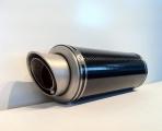 Scarico Moto Tondo Vale Carbon