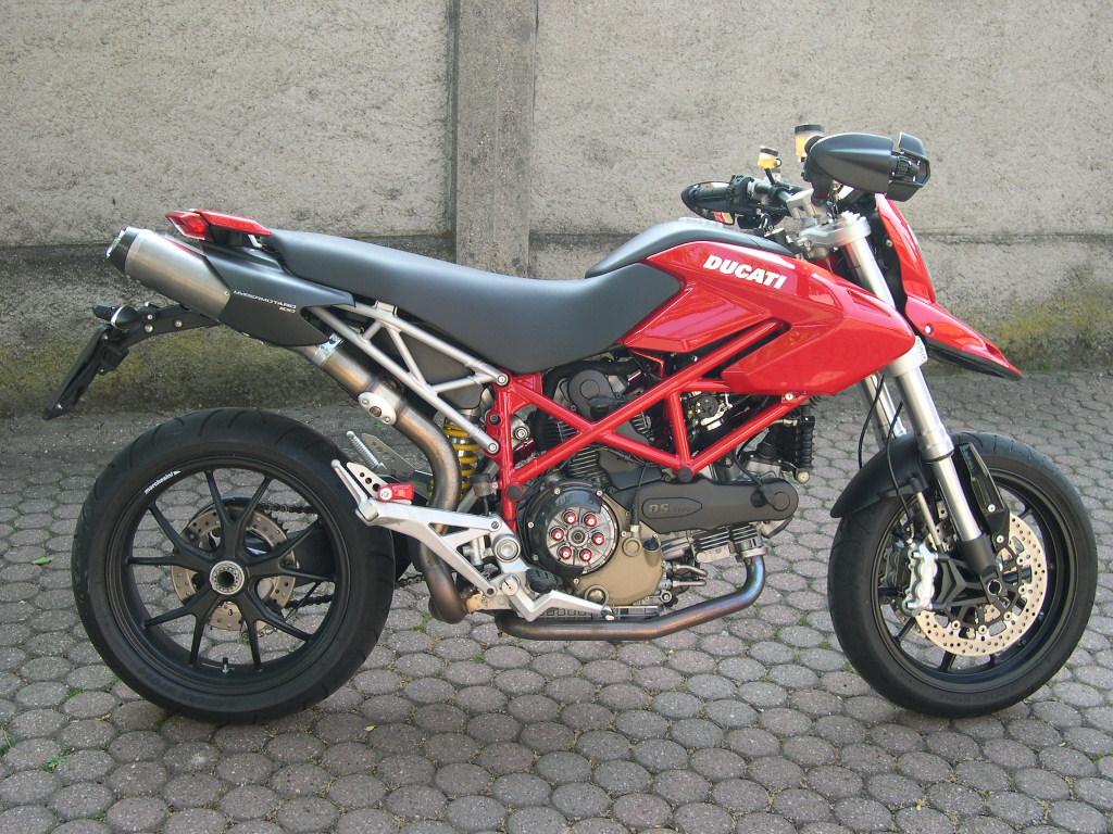 Ducati Hypermotard Scarico 25