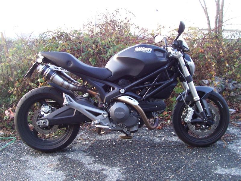 Ducati Monster 696 Scarico 19