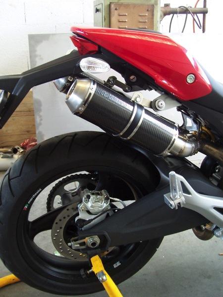 Ducati Monster 696 Scarico 22