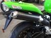 Kawasaki Zx10r 06-07 Ovali Carbonio Fondello Inox 1