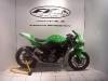 Kawasaki Zxr 250 Scarico Completo 2-1 Con Tondo Vale Carbon 2