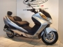 Suzuki Burgman 400 Ovale Inox o Titanio Fondello Carbonio